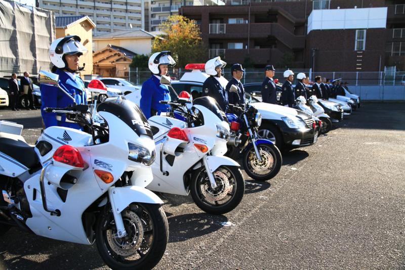 和泉警察署が歳末警戒発足式