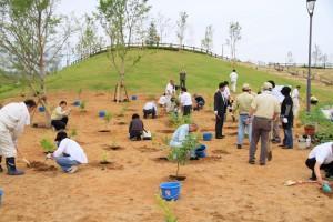 植樹祭全体の様子